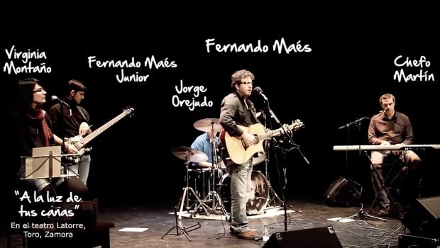 Fernando Maés - A la luz de tus canas