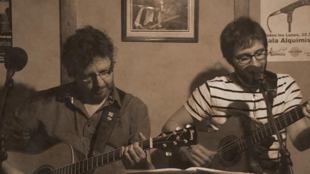 Fernando Maés - Con Andrés Sudón