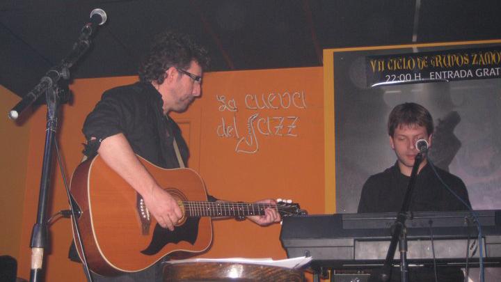 Fernando Maés - La Cueva del Jazz en vivo - Zamora